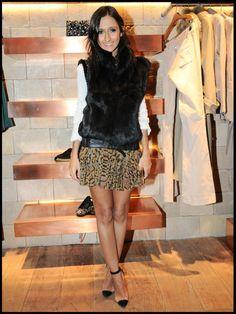 Leopard with a fur vest!