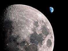 Earth and Moon Wallpaper HD (page 2) - Pics about space