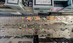 Craig & Karl Cover Street in China with 13 Tons of Lollies.