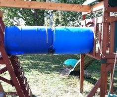 Cheap DIY childs Playset tube/Tunnel
