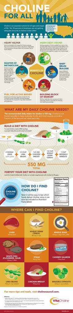 Choline for all: Why we all need choline in our diets and how to find it!