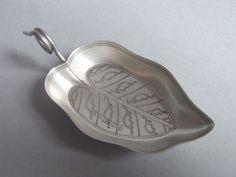 A rare George III Caddy Spoon made in Birmingham in 1806 by Joseph Willmore (Birmingham)