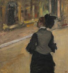 Edgar Degas, Visit to the Museum, c. 1877-80