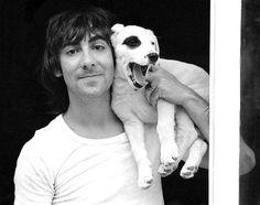 Keith Moon & his dog