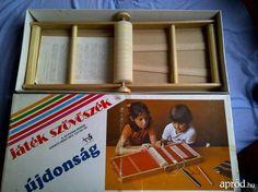 Another kind of magic heddle loom from Hungary. **Nagyon régi játék szövőszék tökéletes állapotban eladó!!! IV. kerület - kép 1