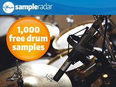 MusicRadar has announced the release of free drum samples, a collection previously featured on Computer Music magazine's cover DVD. Computer Music, Sound Samples, Drum N Bass, Music Magazines, Drums, Free, Peace, Percussion, Drum
