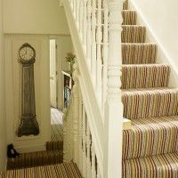 Kitchen, Bathroom, Bedroom, Living Room And Garden Design And Decorating  Ideas   House. Striped CarpetsPatterned Stair ...