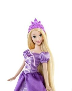 NIB- Disney Princess Royal Style Rapunzel -Tangled Giftset with 2 extra outfits #Disney
