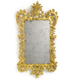 A George III giltwood pier mirror circa 1760 | lot | Sotheby's