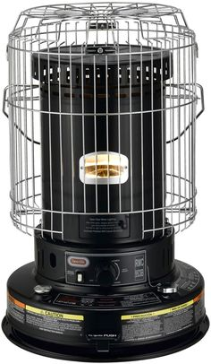 Dyna-Glo RMC-95C6B Indoor Kerosene Convection Heater, 23000 BTU, Black Home Design, Best Space Heater, Indoor Electric Grill, Kerosene Heater, Radiant Heaters, Power Out, Bring The Heat, Black Appliances, Canned Heat