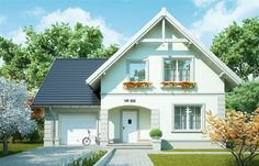 Cottage Style Homes, Micro House, House Elevation, Simple House, House Rooms, Modern House Design, Traditional House, Old Houses, Future House
