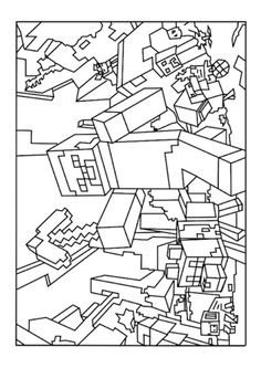 Coloring Pages Minecraft Color
