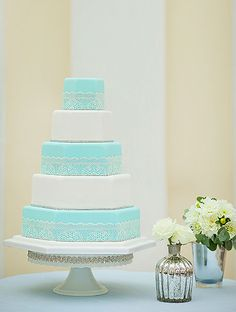 1000+ images about Wedding Cake on Pinterest  Tiffany Blue Weddings ...