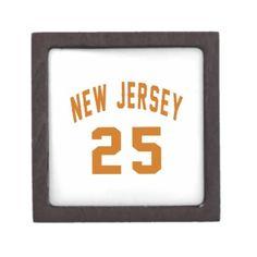 #New Jersey  25 Birthday Designs Gift Box - #birthday #gift #present #giftidea #idea #gifts