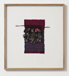 Sikkema Jenkins Co. Mauresque Etiquette, 2013 Cotton, silk, paper, feathers 9.25 x 5.5 inches 23.5 x 14 cm
