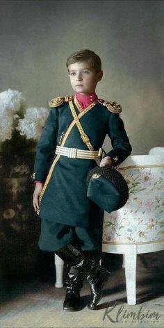 Tsarevich Alexei Romanov.