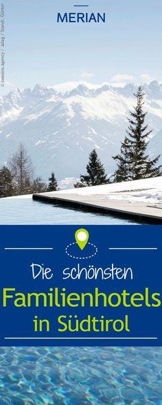 Wir verraten euch, wo ihr die schönsten Familienhotels in Südtirol findet! #Familienhotel #Familienhotels Familienfreundliche Hotels, Seasons, Mountains, Nature, Travel, Baby, Hotels For Kids, Explore, Naturaleza
