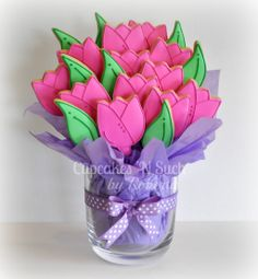 Pink Tulips Flower Bouquet