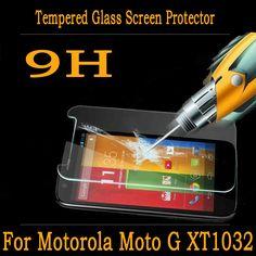 Закаленное Стекло Пленка для Motorola Moto G XT1032 взрывозащищенные Премиум Закаленное Стекло-Экран Протектор для Motorola Moto G 4.5