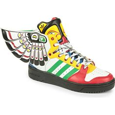 Happy feet need these ADIDAS Totem #trainers White poppy