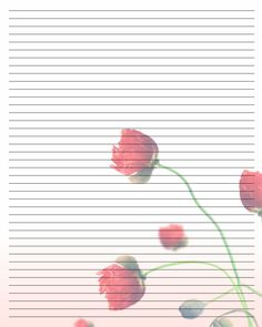 Free Pretty Stationary Printable - Bing Images