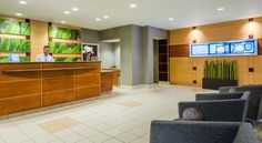 SpringHill Suites Richmond Northwest Richmond This hotel is located 10 miles from downtown Richmond, close to Interstate 64. It features a 24-hour fitness center, a 24-hour convenience store and studio accommodation with 37'' flat-screen TVs.