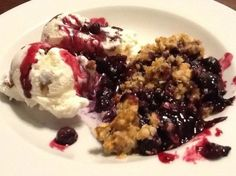 Blueberry Crumble Dessert Recipe - Genius Kitchensparklesparkle