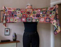 Bohemian Rhapsody by annrowley, via Flickr Crochet Shawl, Knit Crochet, Crochet Sweaters, Granny Square Sweater, Girl Trends, Knitting Needles, Crochet Clothes, Needlework, Crochet Patterns