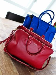 Celine Luggage vs Triptyque Bag-for me the Triptyque is the perfect bag with all the  compartments.