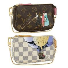 I love funky wristlets esp if they are LV
