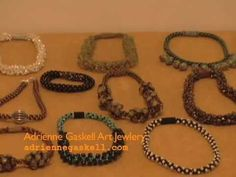 Adrienne Gaskell - Workshops on Kumihimo Beaded Braids