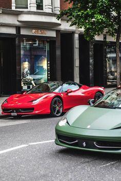 Ferrari 458's