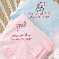 Personalized embroidered baby blanket www.Facebook.com/babyessence |  handkerchiefs & blankets | Pinterest | Handkerchiefs, Personalized baby  blankets and ...