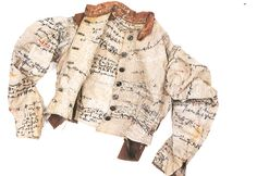 Agnes Richter: embroidered straitjacket from the Prinzhorn Collection  The Station Spin: Encoded Cloth