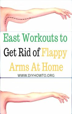 Picks of Easy Lazy Ways to Get Rid Of Flappy Arm Fat Slim Arm Workouts Bingo Bat Wing At Home, Reduce Arm Fat in Summer via @diyhowto