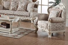 European country style armchair - MelodyHome.com