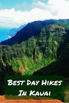 Best Day Hikes In Kauai, Hawaii So the time came to fulfill a dream, quite a big one: visiting Hawaii! But Hawaii mean only one island which one should we choose? If you love hiking, you should go to Kauai! Kauai Hawaii, Maui, Hawaii Hikes, Hawaii 2017, Blue Hawaii, Honeymoon Places, Hawaii Honeymoon, Honeymoon Packages, Voyage Hawaii