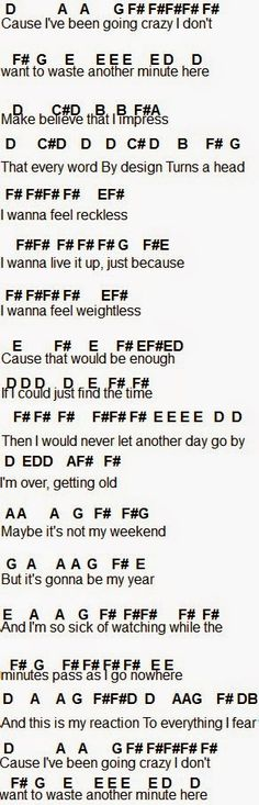 Flute Sheet Music: All Time Low