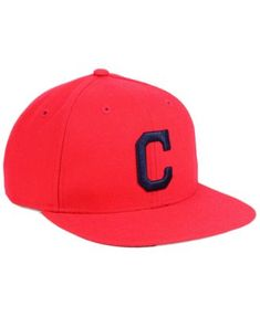 online store ff6a9 d27e8  47 Brand Boys  Cleveland Indians Basic Snapback Cap - Red Adjustable