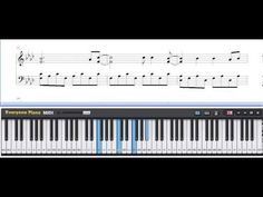 Free All of Me - John Legend Piano Sheet Music Tutorial John Legend, Piano Tutorial, Piano Sheet Music, Studio, Youtube, Free, Play, Projects, Musica