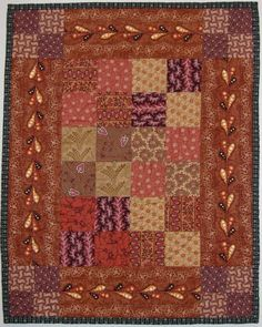 Small quilt made by me. HomeSpunPrims