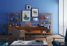home office paint design