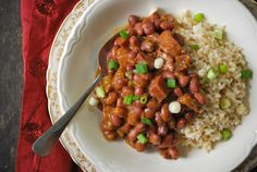 Cajun Red Beans and Brown Rice