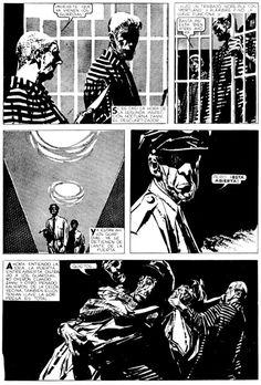 from Alberto Breccia and Héctor Gérman Oesterheld's Mort CInder