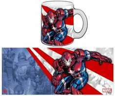 Taza Iron Patriot - Marvel Iron Man