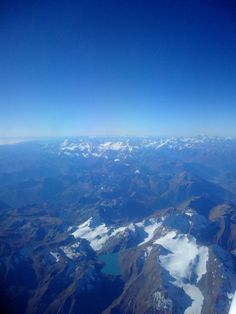 Flight over the Italian Alps.....our first glimpse of Europe!