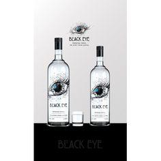 Logo design for Austrian finest Vodka Vodka Bottle, Logo Design, Eyes, Black, Black People