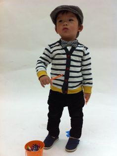 I am totally okay with having a boy if I can dress him in cardigans and bow ties!