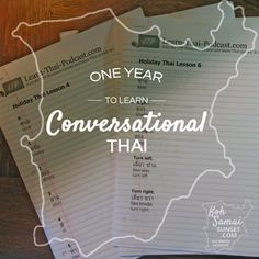 Review: 12 months of learning Thai with Learn Thai Podcast // #Thai #Language // http://www.kohsamuisunset.com/review-learn-thai-podcast-premium/