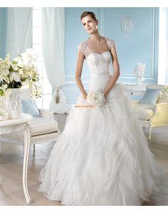 Jiskra a záře Srdíčko Elegantní & moderní Svatební šaty 2014